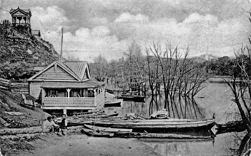 Половодье на Урале. Оренбург. Фото рубежа XIX-XX вв.
