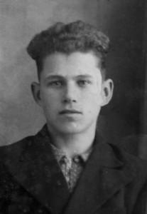 Е.К. Гребнев в молодые годы