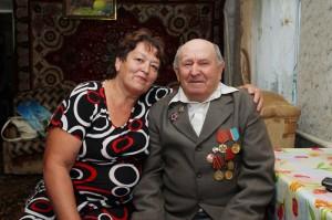 Д.Н. Волченко с дочерью Раисой