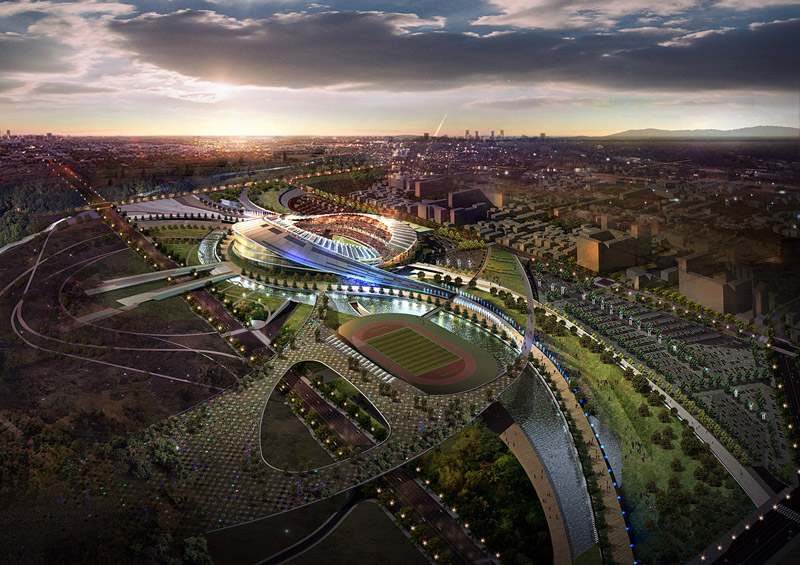 Стадион Азиатских игр 2014 года в Инчхоне