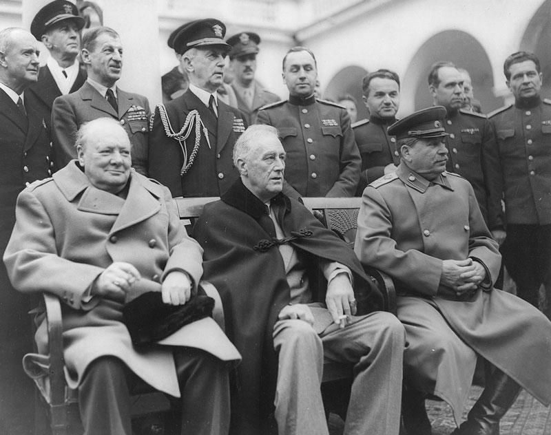 Ялта, 1945 г.