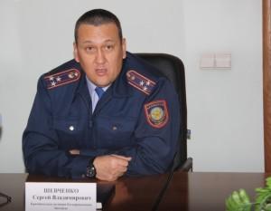 Начальник управления криминальной полиции ДВД ЗКО Сергей Шевченко