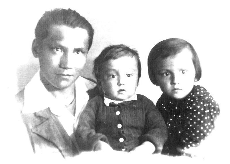 Ленинград. В день ухода отца на фронт. 03.07.1941 г.