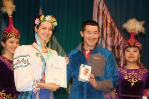 Максут Жумаев с призером из Павлодара