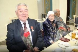 Ветераны войны и тыла с юбилейными медалями