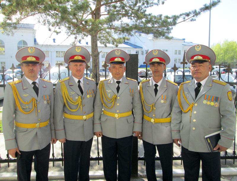 Астана. И.А. Столяров – второй слева