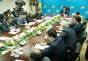 Первое заседание общественного совета