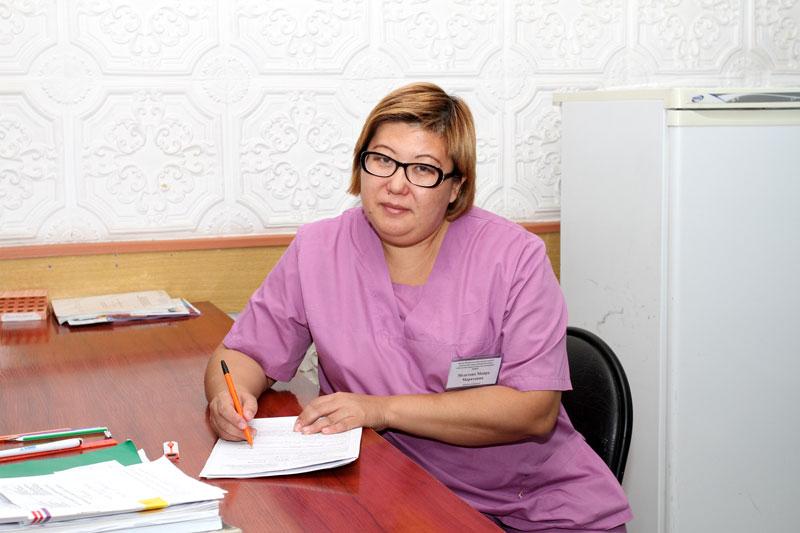 Майра Медетова – врач-нарколог