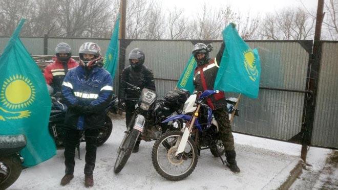 Фото из соц. сети Вконтакте, группы «Байкеры Казахстана»