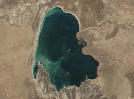 Сарыкамышское озеро