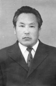 С. А. Елеуов. 1975 г.
