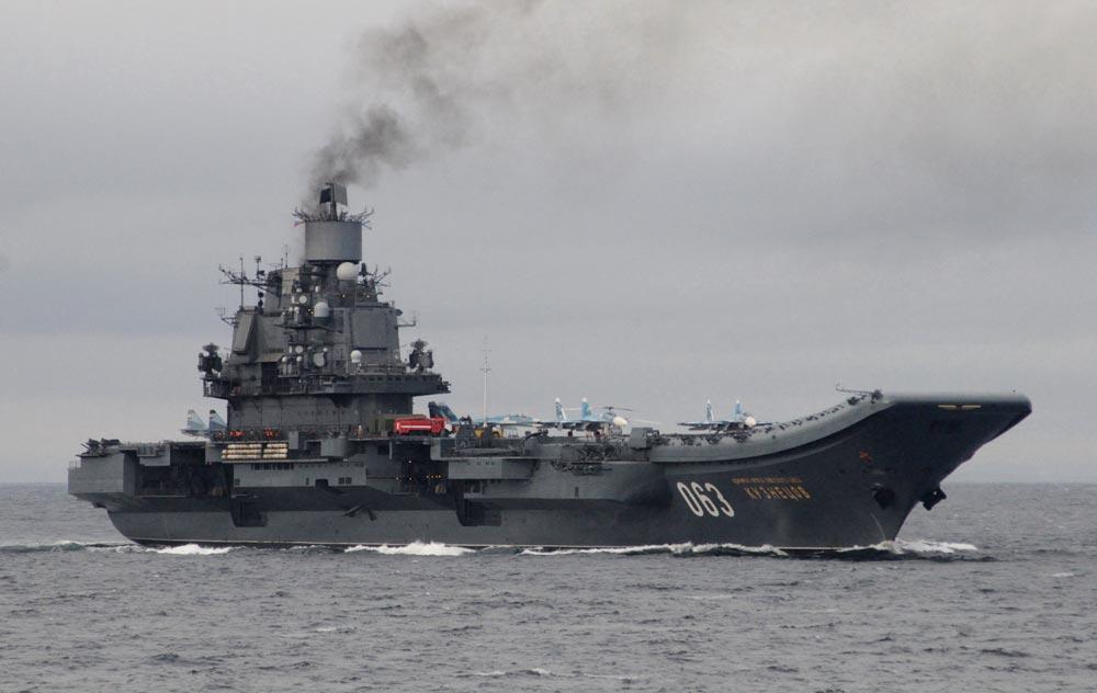 фото адмирал кузнецов в ла манше