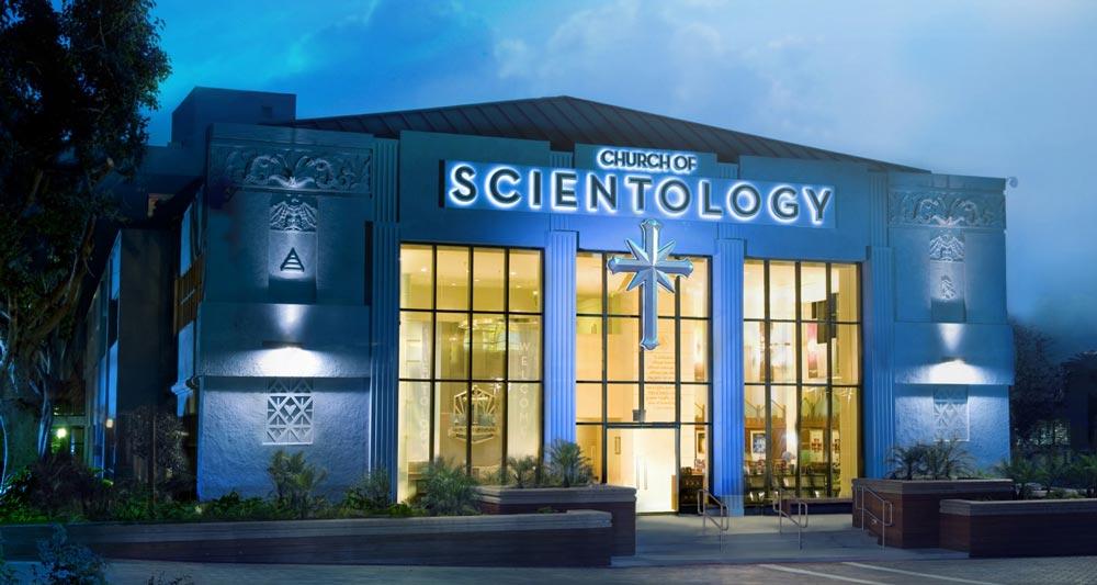 Саентологическая церковь. Лос-Анджелес, США