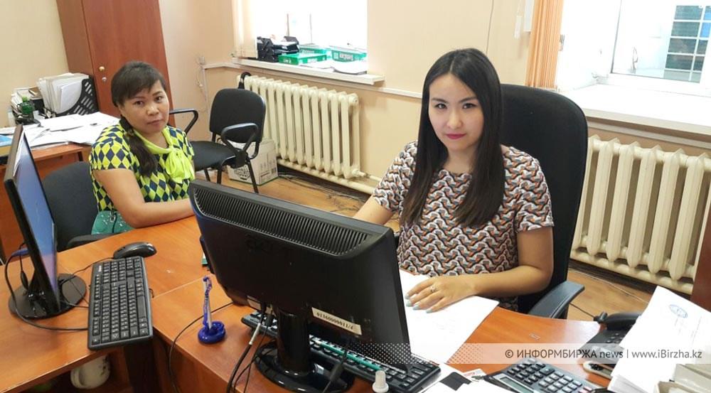 Айнура Казмуканова, специалист Центра занятости