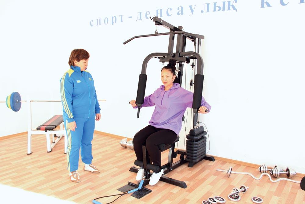 Фитнес-центр Асем Темирбековой
