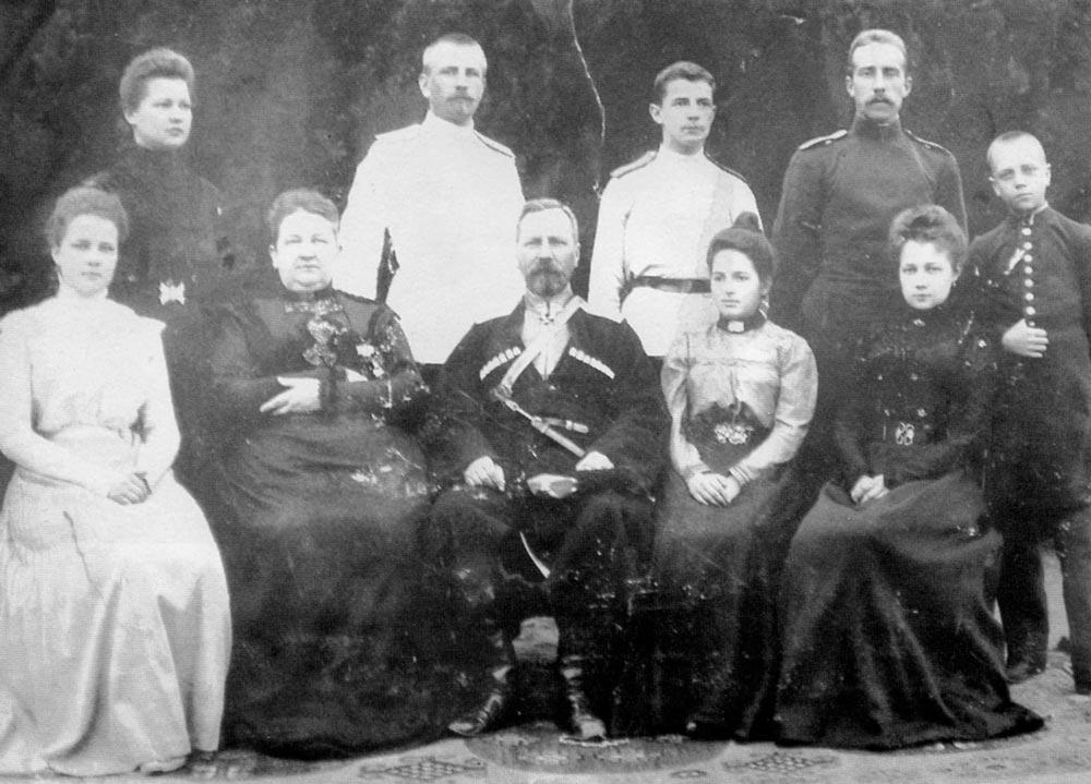 Семья Толстовых. Начало ХХ века