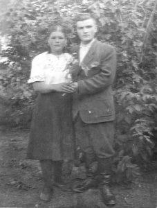 Супруги Галюк, родители Валентины