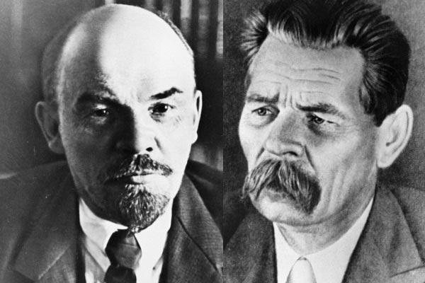 В. Ленин и М. Горький