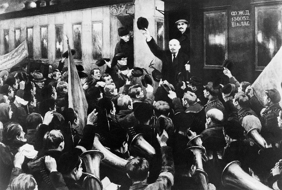 Ленин на финляндском вокзале