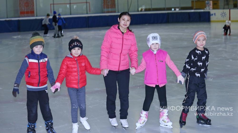 Гульнур Ганиева с воспитанниками