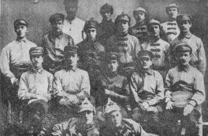 Группа бойцов-чоновцев Уральска, 1923 г.