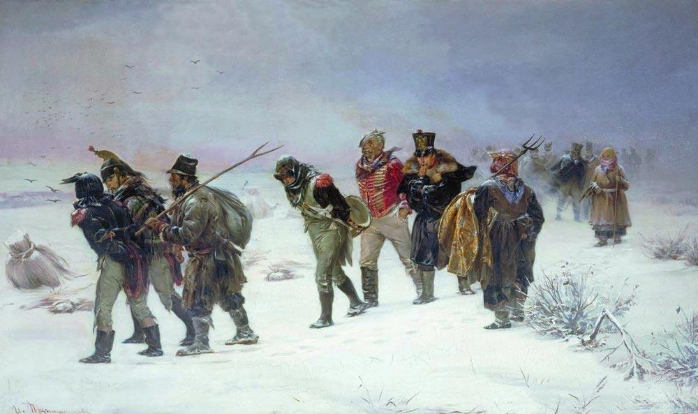 Илларион Прянишников. «В 1812 году». 1874 г.