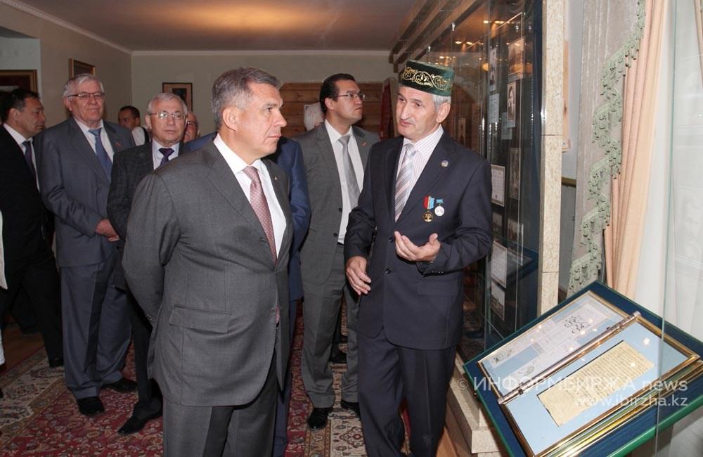 Президент Татарстана Р. Минниханов