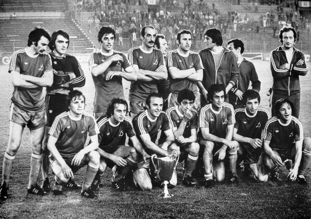 «Динамо», Тбилиси. Обладатель Кубка кубков. 1981 год