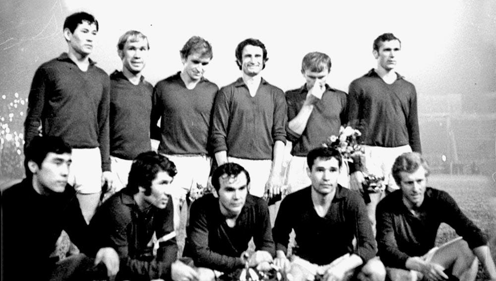 Футбольный клуб «Кайрат». 1970 г.