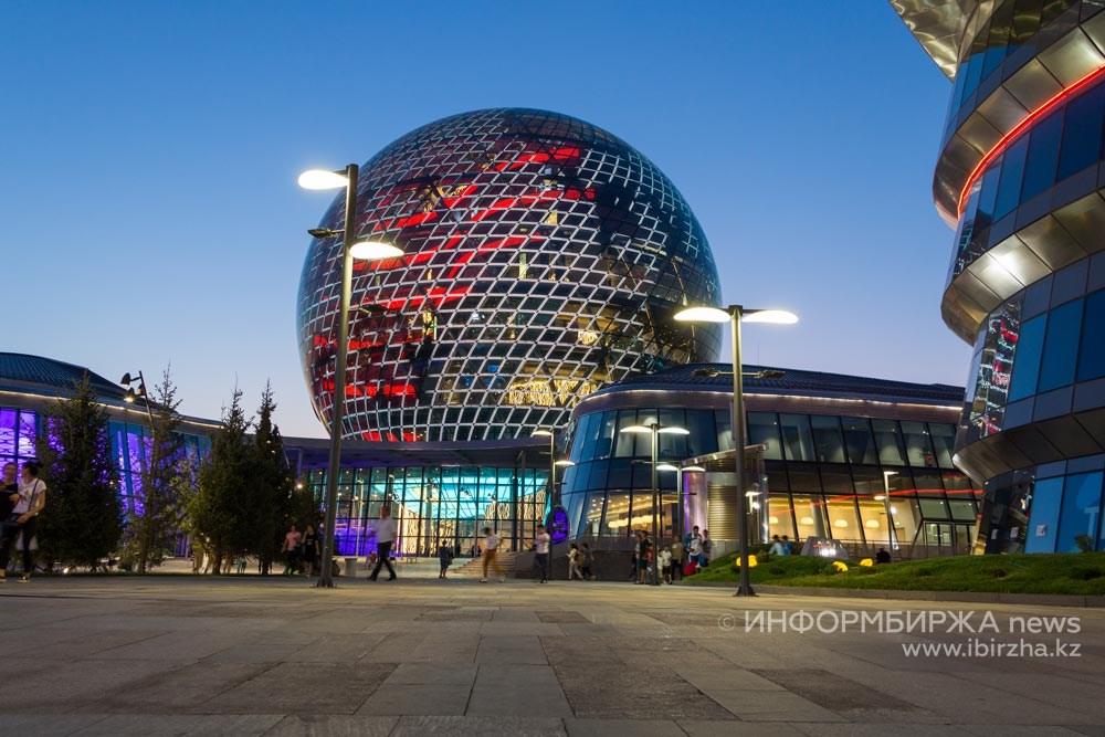 Экспо-2017. Выставочный комплекс «Нұр Әлем»