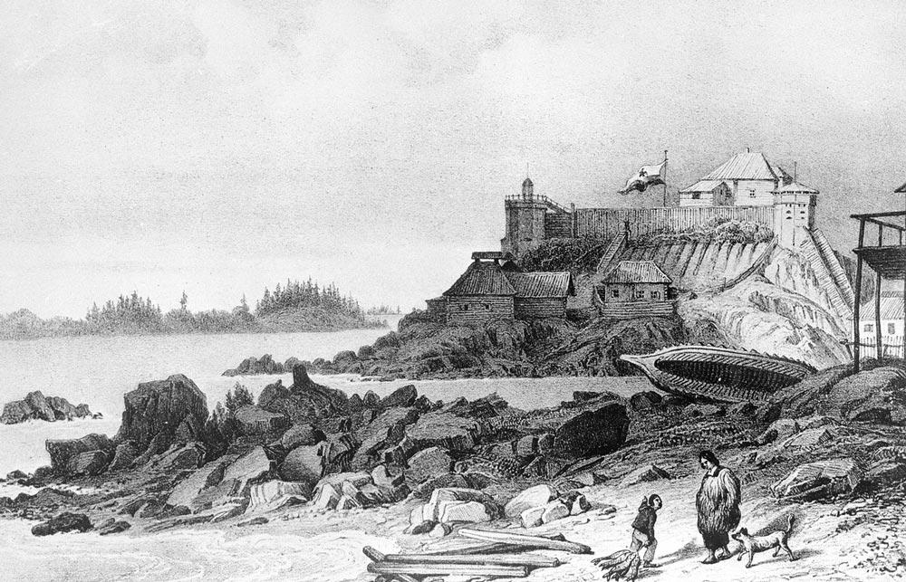 Русское поселение на Аляске
