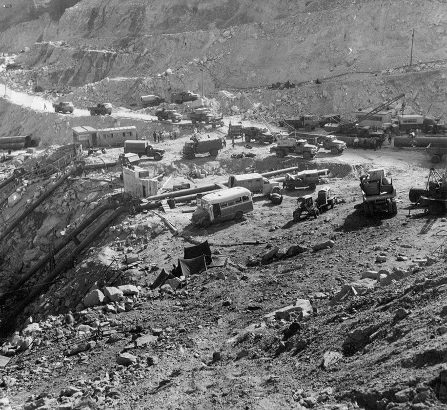 Сель под Алма-Атой, 1973 год