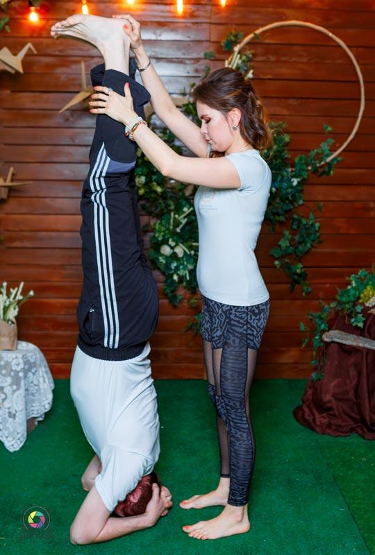 План занятий по йоге