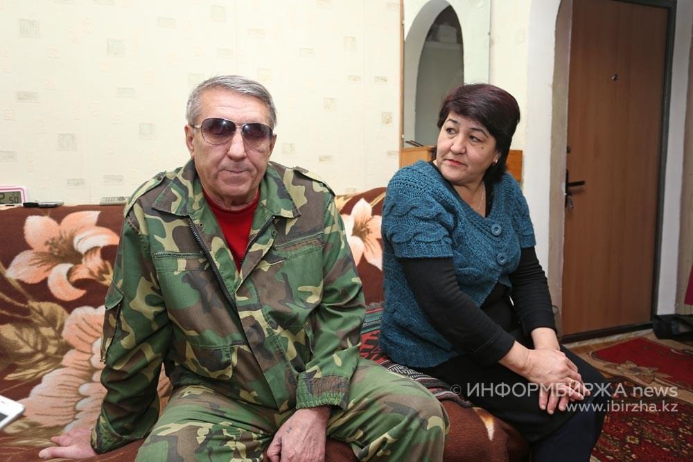 М.В. Голунов и Акмарал Баймуканова