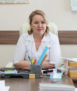 Заместитель главного врача Н.Л. Ихсанова