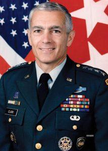 Американский генерал У. Кларк