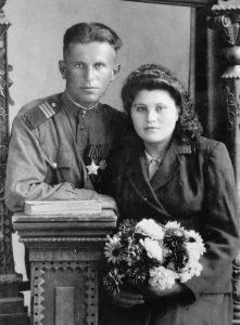 А. Сорока с супругой