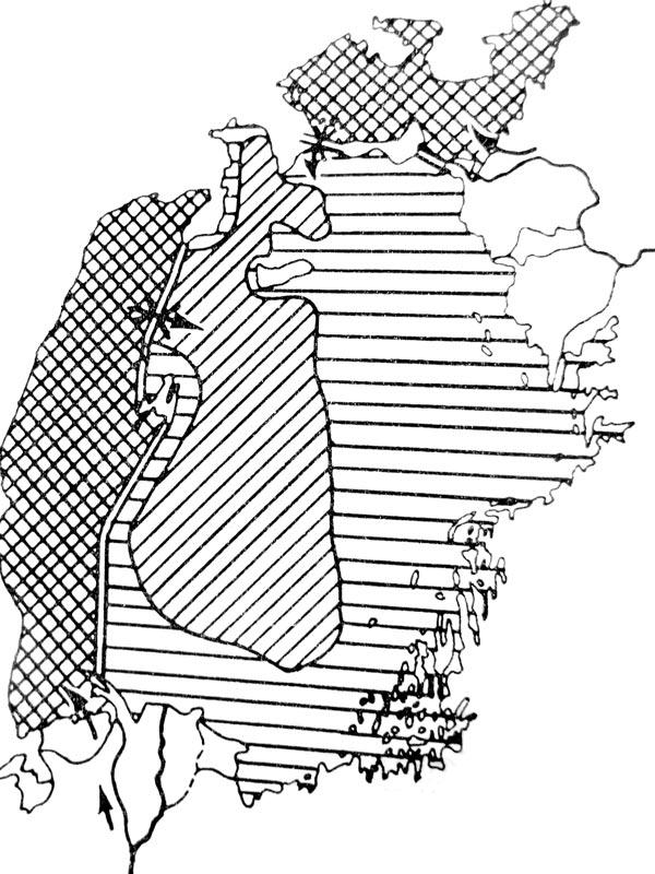 """План """"Б"""" по М. Львовичу (1986 г.): сохранения активными Северного и Западного Арала"""