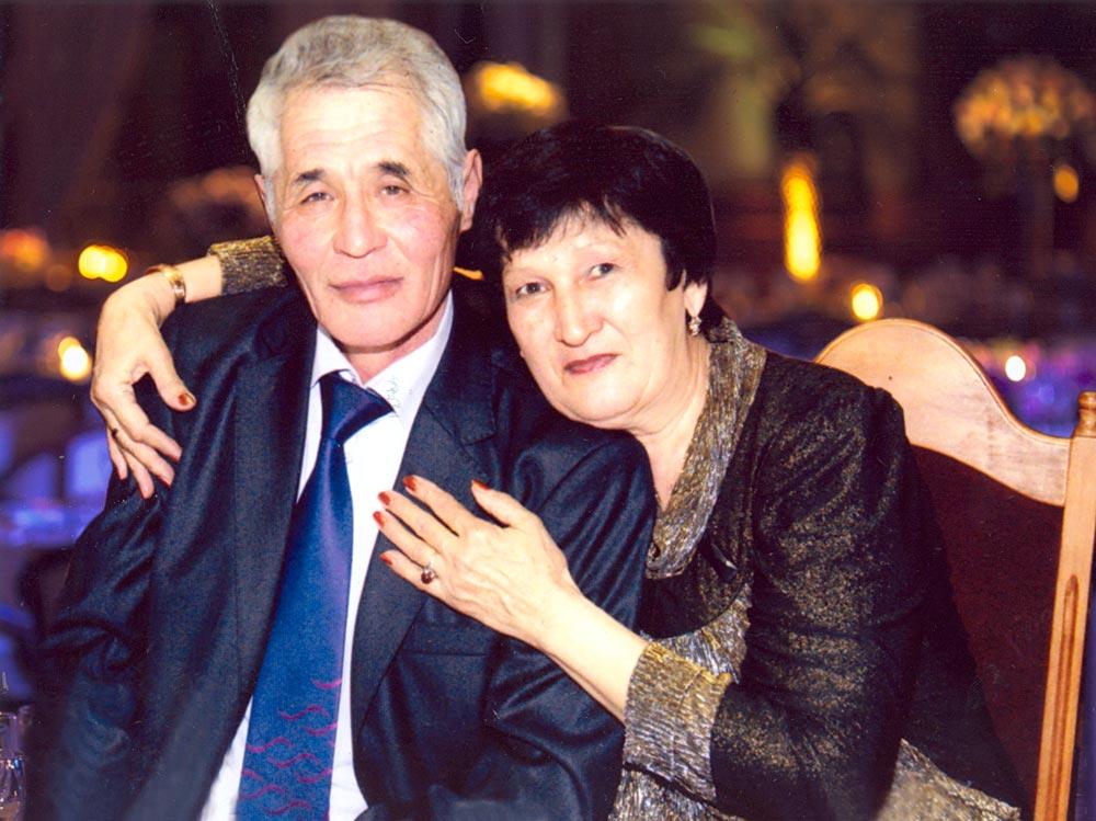 Супруги Бекказиевы Саги Калиоллинович и Алтынай Хайдаровна