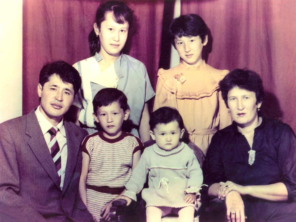 Семья Бекказиевых