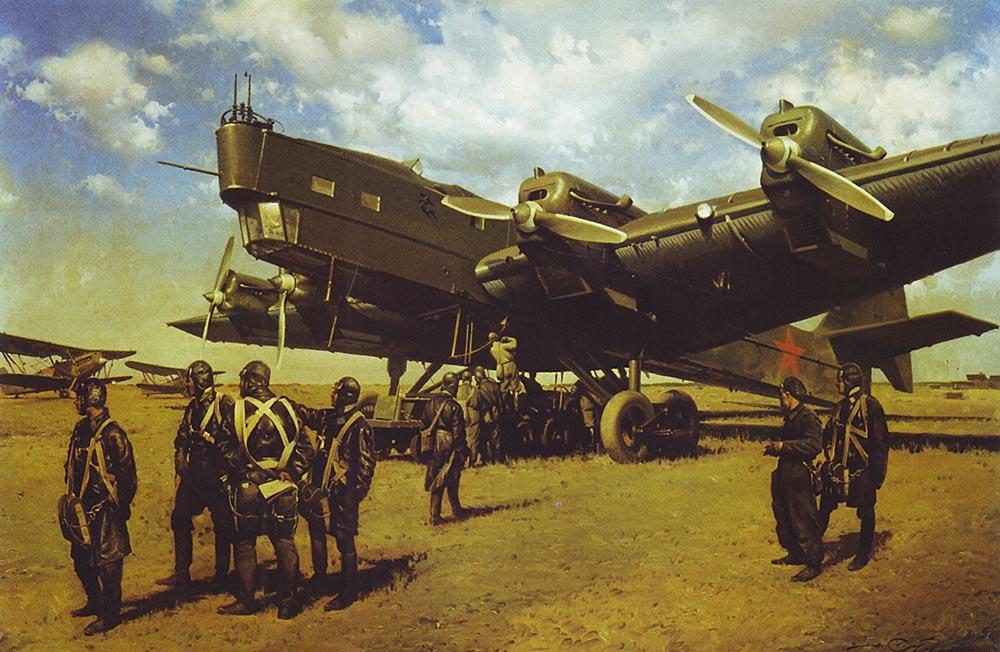 Бомбардировщик ТБ-3