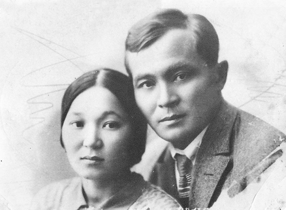 Родители Маншук, Амина и Ахмет Маметовы