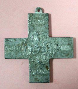 Орден «Крест Михаила Архангела», награда войскового атамана генерала В.С. Толстова