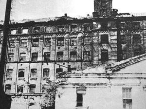 Уральск. Макаровская паровая мельница и электростанция. Построена в 1903 г. Снесена собственниками в 2005 году