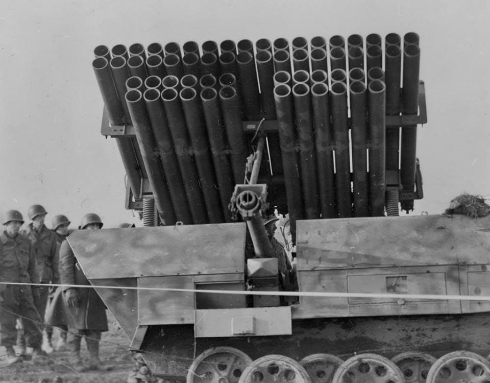 Немецкая самоходная ракетная установка