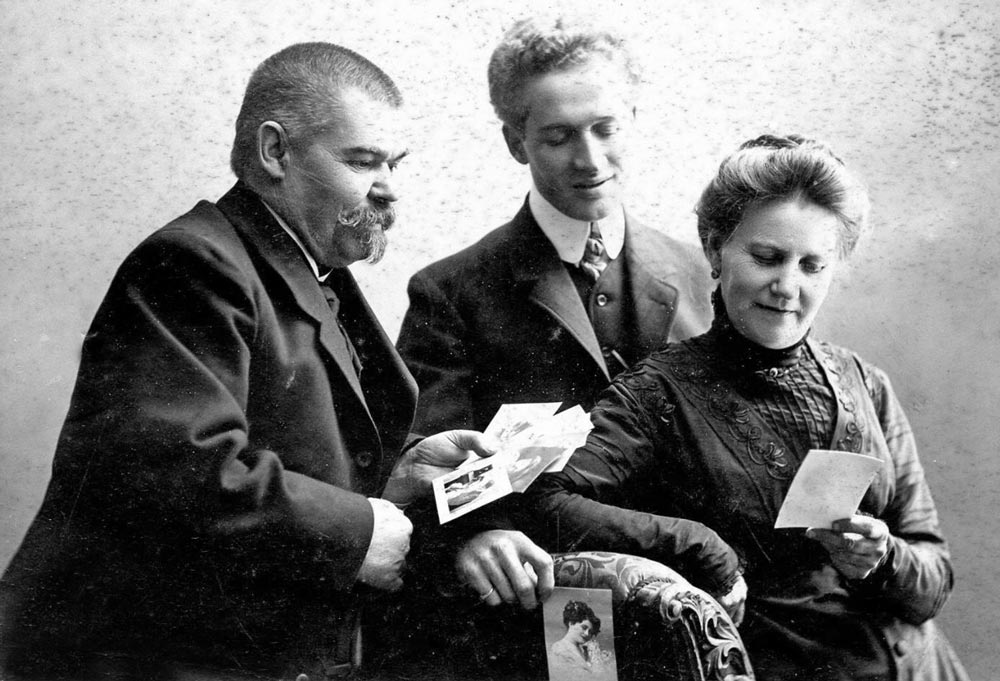 Семья П.Л. Полякова