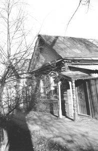 Дом на улице Крестовой (ныне Г. Караша, 18), в котором размещалось фотоателье П. Полякова