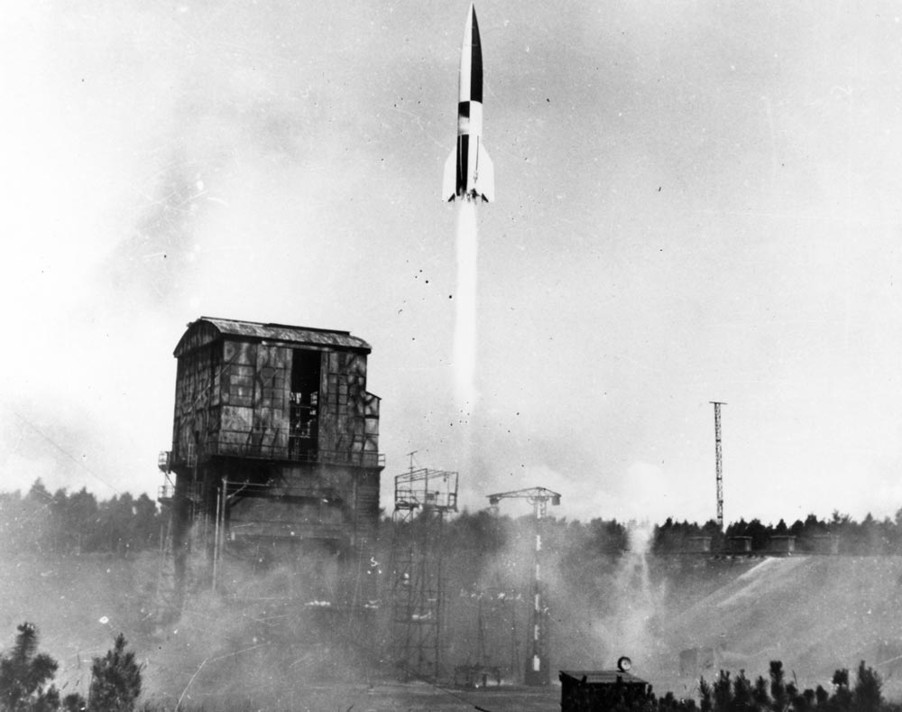 Запуск ракеты ФАУ-2
