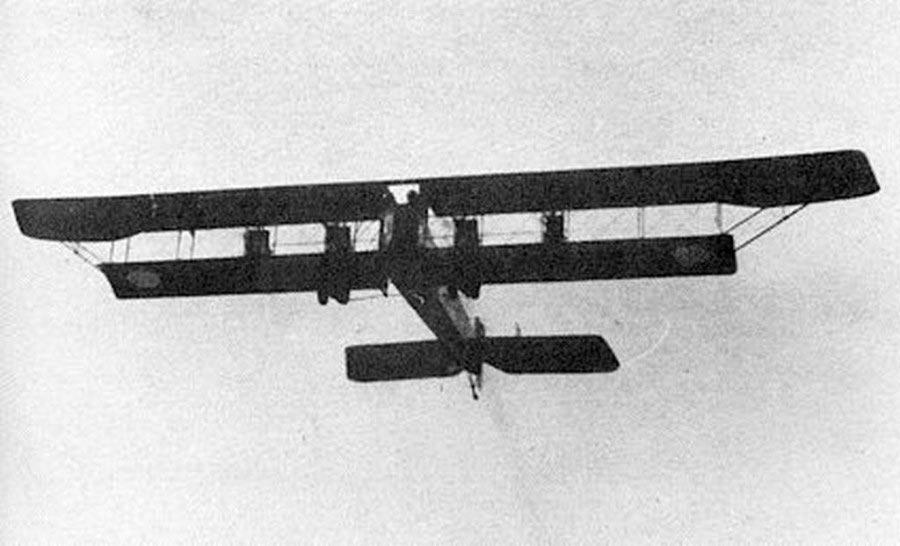 «Илья Муромец Киевский» в полете