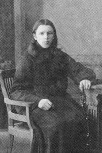 Послушник Тверского Отроч монастыря Иван Чернов. 1912 год